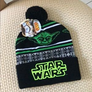 Other - New Star Wars Yoda Winter Knit Hat - Adult size